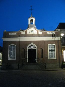 ambachtsherenhuis by night