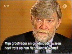 Mijn grootvader en grootmoeder waren heel trots op hun Nederlandse afkomst