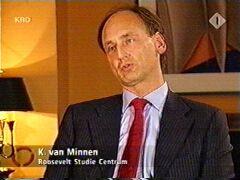 Kees van Minnen, de directeur van het Roosevelt Studie Centrum te Middelburg
