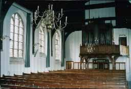 inside the N.H.church,  Oud-Vossemeer